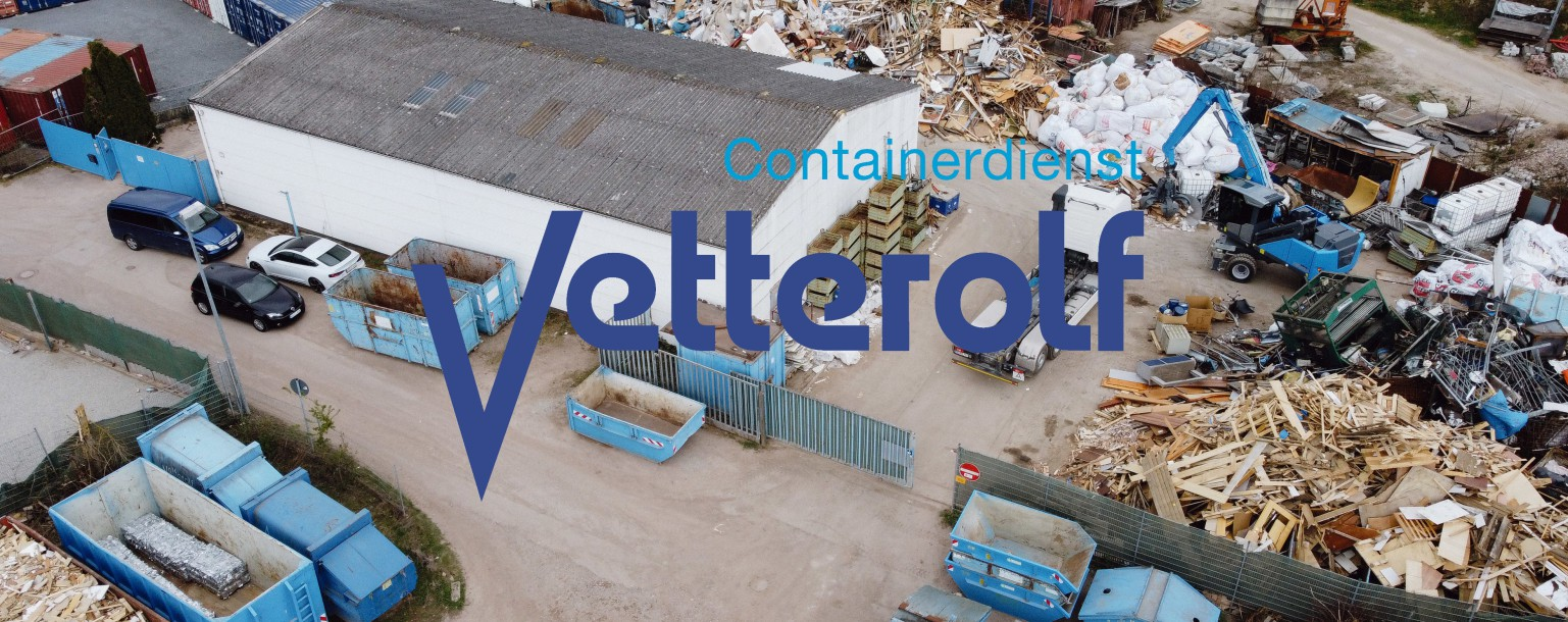 Containerdienst Vetterolf, Hockenheim, Rhein-Neckar-Kreis, Baden-Württemberg